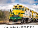 Powerful Diesel Locomotive