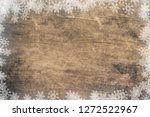 old wooden background and... | Shutterstock . vector #1272522967