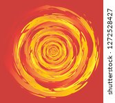 swirl fire circle abstract... | Shutterstock .eps vector #1272528427
