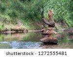 Stone Balance Morning