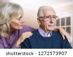 Confused Senior Man Suffering...