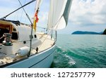 Image Of A Beautiful Yacht In...