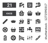knob icon set. collection of 21 ... | Shutterstock .eps vector #1272590317