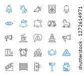 alert icons set. collection of... | Shutterstock .eps vector #1272614971