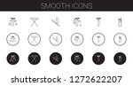 smooth icons set. collection of ... | Shutterstock .eps vector #1272622207