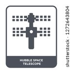 hubble space telescope icon... | Shutterstock .eps vector #1272643804