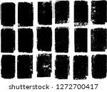 grunge post stamps collection ...   Shutterstock .eps vector #1272700417