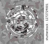 ballerina on grey camo pattern | Shutterstock .eps vector #1272729001