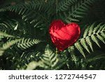 the red heart is a symbol of... | Shutterstock . vector #1272744547