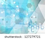 science research as a concept... | Shutterstock .eps vector #127279721