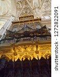 cordoba  spain   may 2  2015 ... | Shutterstock . vector #1272822091