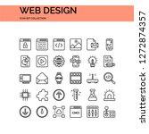 web design icons set. ui pixel...