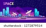 vector horizontal illustration. ... | Shutterstock .eps vector #1272879514