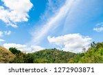 blue sky and beautiful cloud... | Shutterstock . vector #1272903871