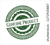 green genuine product distress... | Shutterstock .eps vector #1272920887