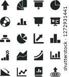 solid black vector icon set  ... | Shutterstock .eps vector #1272931441
