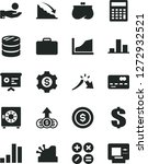 solid black vector icon set  ... | Shutterstock .eps vector #1272932521