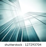 panoramic and perspective wide... | Shutterstock . vector #127293704