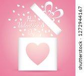 banner valentine day design for ...   Shutterstock .eps vector #1272944167