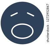 weeping  angry vector isolated ... | Shutterstock .eps vector #1272952867