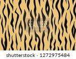 zebra stripes pattern. zebra... | Shutterstock .eps vector #1272975484