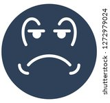 weeping  sad vector isolated... | Shutterstock .eps vector #1272979024