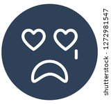 crying  weeping vector... | Shutterstock .eps vector #1272981547