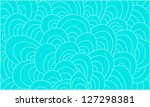 blue abstract waves background... | Shutterstock . vector #127298381