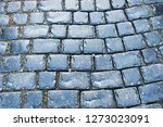 cobbled stone road   Shutterstock . vector #1273023091