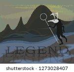 illustration of the finno ugric ... | Shutterstock .eps vector #1273028407
