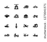 vector illustration of 16 icons.... | Shutterstock .eps vector #1273041571