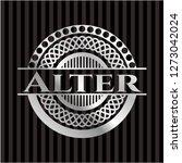 alter  silver shiny emblem | Shutterstock .eps vector #1273042024
