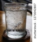 cold water in a glass   Shutterstock . vector #1273042807