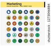 marketing icons pixel perfect...