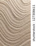 abstract lines on sand | Shutterstock . vector #127308611