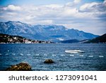 mountain islands coming out of... | Shutterstock . vector #1273091041