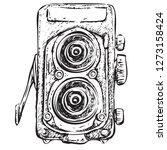 vector illustration. retro...   Shutterstock .eps vector #1273158424