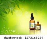 marijuana concept and cannabis... | Shutterstock .eps vector #1273165234