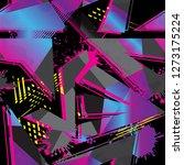 abstract seamless grunge... | Shutterstock .eps vector #1273175224