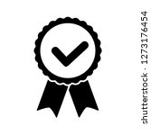 award vector icon  badge with...   Shutterstock .eps vector #1273176454