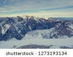 spectacular winter mountain... | Shutterstock . vector #1273193134