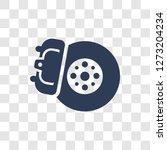 disk brake icon. trendy disk... | Shutterstock .eps vector #1273204234