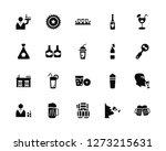 vector illustration of 20 icons....   Shutterstock .eps vector #1273215631