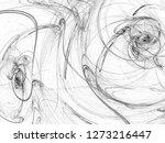 grunge abstract black... | Shutterstock . vector #1273216447