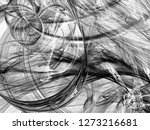 grunge abstract black... | Shutterstock . vector #1273216681