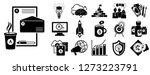 brand identity icon set. simple ...   Shutterstock . vector #1273223791