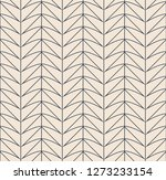 seamless retro pattern with... | Shutterstock .eps vector #1273233154