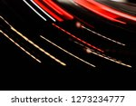 abstract tones. night road and...   Shutterstock . vector #1273234777