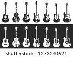Guitars Sets 1  Vector...
