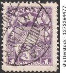 latvia circa 1930 a stamp... | Shutterstock . vector #1273264477